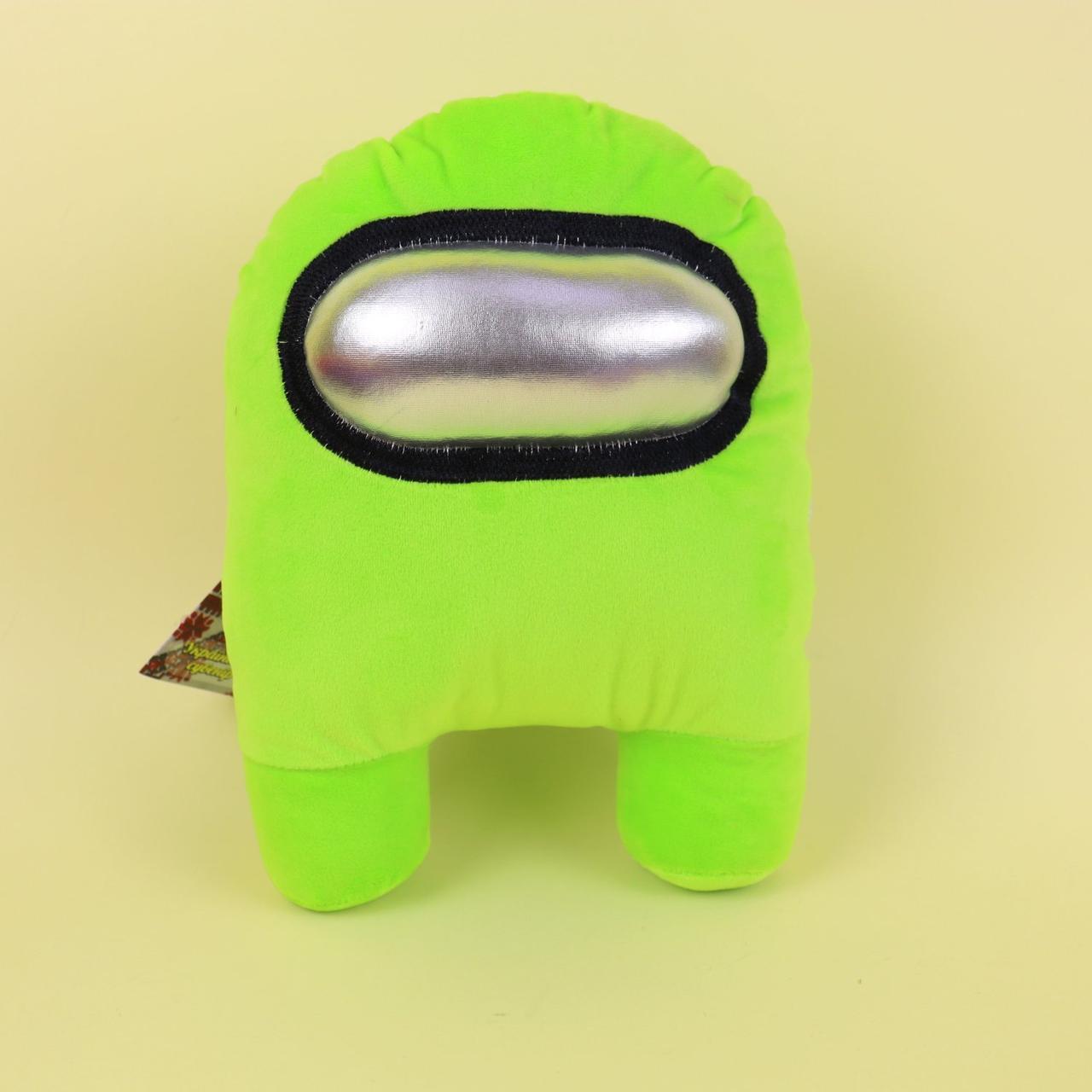 00006-04 Мягкая игрушка Among Us зеленый тм Копиця