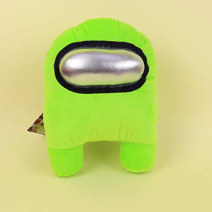 00006-04 Мягкая игрушка Among Us зеленый тм Копиця, фото 2