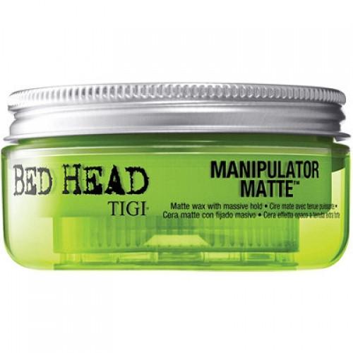 Матовый воск для волос сильной фиксации TIGI Bed Head Manipulator Matte, 50 мл