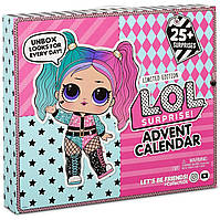 Игровой набор ЛОЛ Адвент календарь Модный лук L.O.L. Surprise! #Ootd with 25+ Surprises