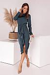 Шелковое платье женское нарядное, фото 3