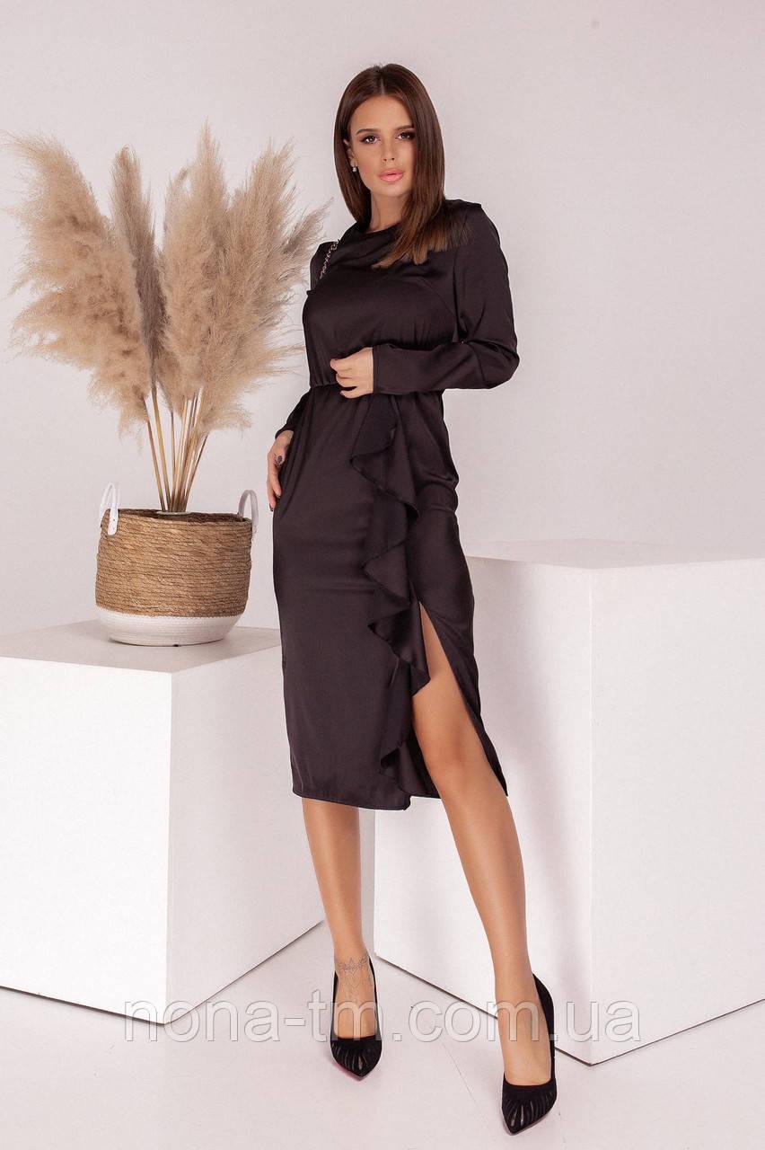 Шелковое платье женское нарядное
