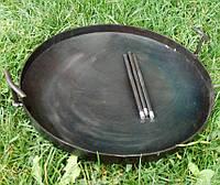 Сковорода діаметром 80 см з диска борони, без кришки, фото 1