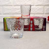 Скляні стопки 50 мл в наборі 6 шт ОСЗ Етюд (8317)