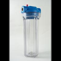 """Колба 2Р10"""" 1/2""""в комплекте ключ, крепление, картридж, фильтры для очистки хол воды AquaKut"""