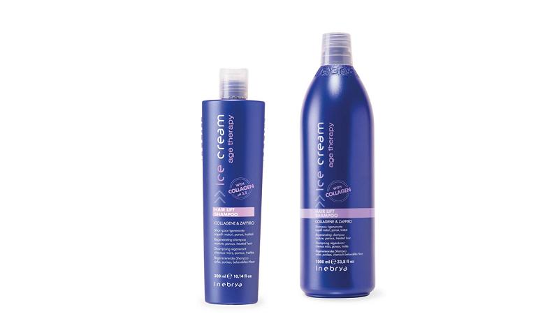 INEBRYA HAIR LIFT Шампунь для зрілого та пористого волосся 300 мл.