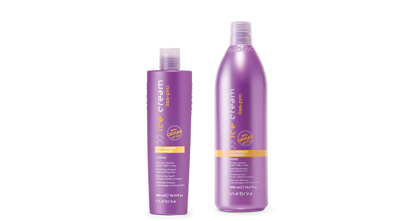 INEBRYA ICE CREAM LISS PERFECT шампунь для гладкости волос 1000 мл.