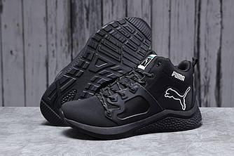Зимние мужские кроссовки 31723, Puma, черные, [ 43 ] р. 43-27,0см.