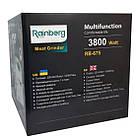 Електрична м'ясорубка з соковижималкою Rainberg RB-675, 3800 Вт., фото 5