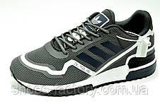 Кроссовки Adidas ZX 750 HD Originals мужские серые (Адидас), фото 3