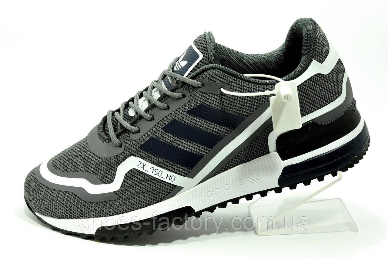 Кроссовки Adidas ZX 750 HD Originals мужские серые (Адидас)