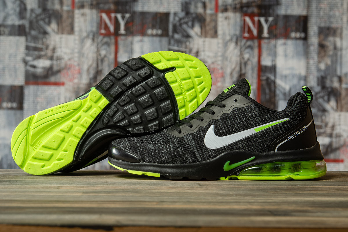 Кросівки чоловічі 16682, Nike Air Presto, чорні, [ немає ] р. 45-28,5 див.