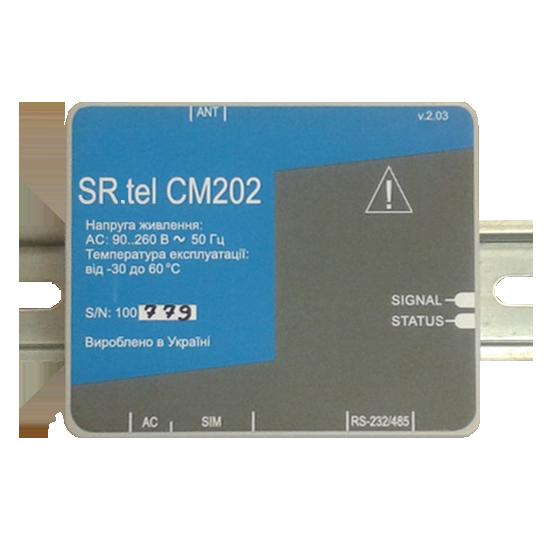 GSM/GPRS-модем со встроенным блоком питания SR.tel CM202