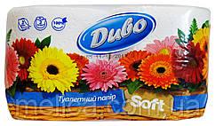 Туалетная бумага Диво Soft белая (2 слоя, 150 листов) - 2 рулона