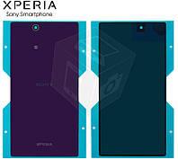Задняя панель корпуса для Sony Xperia Z Ultra C6802 / С6806 / C6833, фиолетовая, оригинал