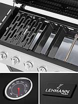 Газовий гриль Lehmann 6 + 1, фото 2