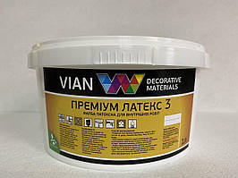 Краска латексная Премиум Латекс-3 VIAN 10кг