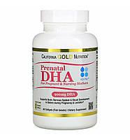 Витамины Омега 3 для беременных и кормящих женщин California Gold Nutrilon, фото 1