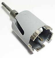 Коронка Craft алмазная turbo segment по бетону (5 сегментов) SDS, Ø 68 мм