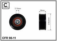 Ролик ручейкового ремня OPEL MOVANO,RENAULT MASTER 2.5D,2.8TDI 10x66.5x26