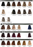 1/10 Синьо-чорний INEBRYA COLOR Крем-фарба для волосся на насінні льону і алое віра 100 мл, фото 5