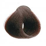 4/5 Каштановый махагон INEBRYA COLOR Крем-краска для волос на семенах льна и алоэ вера 100мл., фото 2