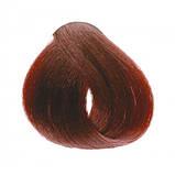 6/5 Темно-русявий махагон INEBRYA COLOR Крем-фарба для волосся на насінні льону і алое вера 100 мл., фото 2