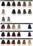 6/8 Каштан коричневий INEBRYA COLOR Крем-фарба для волосся на насінні льону і алое вера 100 мл., фото 4