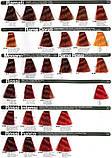 6/8 Каштан коричневий INEBRYA COLOR Крем-фарба для волосся на насінні льону і алое вера 100 мл., фото 5