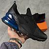 Кросівки чоловічі 16065, Nike Air 270, чорні, [ 41 43 ] р. 41-25,0 див., фото 7
