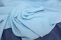 Американский креп жатий, колір голубий, фото 1
