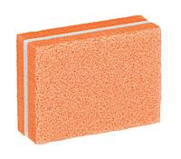 Баф мини для маникюра 100/180 грит оранжевый, фото 1