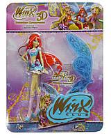 Коллекционная фигурка Winx Club 3D Bloom Believix Блум Винкс Волшебное приключение