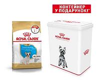 АКЦІЯ!!! Корм для собак Royal Canin French Bulldog Junior (Роял Канін Французький Бульдог Юніор)1кг.+КОНТЕЙНЕР