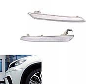 Прозрачный катафот / отражатель ЛЕВО и ПРАВО для BMW X5 E70 sport, X6 E71, E72, фото 1