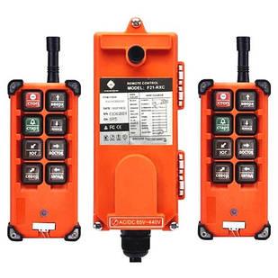 Дистанционное радиоуправление для кранов, тельферов F21-E1B, 2 пульта