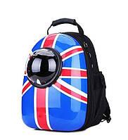 Космический рюкзак для переноски домашних животных CosmoPet с иллюминатором. Переноска для домашних животных Британский (British)