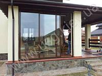 Алюминиевые слайдинговые  окна