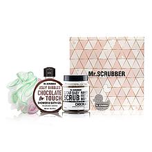 Набор Chocolate Mr. Scrubber