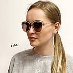Модные солнцезащитные очки в розовой оправе, фото 2