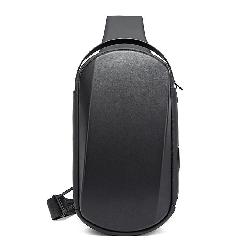 3D однолямочный рюкзак Bange BG7256, с USB портом, влагозащищённый, 5л