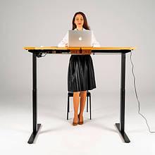 Столы с электро-регулировкой высоты для работы стоя и сидя