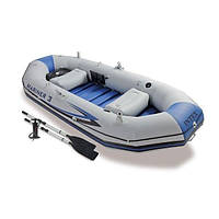Лодка надувная трехместная Intex Mariner 3 Set 68373