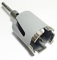 Коронка Craft алмазная turbo segment по бетону (5 сегментов) SDS, Ø 82 мм