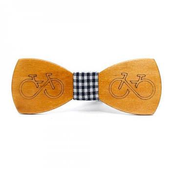 Дерев'яна Краватка Метелик Gofin Велосипед Gbdh-8175