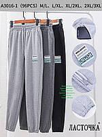 """Молодіжні спортивні штани джоггеры """"Ластівка"""". Різні кольори. № A3016-1."""
