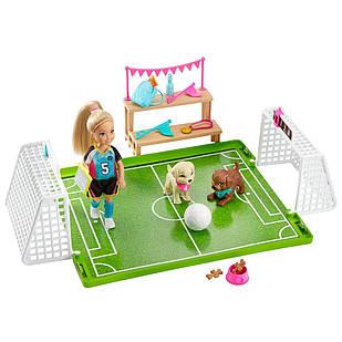 Ігровий набір Барбі Футбольна команда Челсі Barbie Dreamhouse Chelsea Soccer Playset