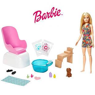 Ігровий набір лялька Барбі Манікюрний салон Barbie Mani-Pedi Spa Playset