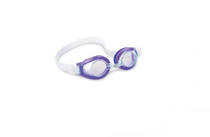 Дитячі окуляри для плавання Intex 55602 (Фіолетовий), фото 2