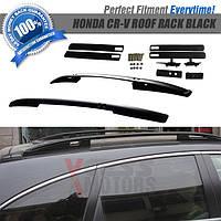 Honda CRV 2007-2011 гг. Рейлинги черные (оригинальный дизайн)